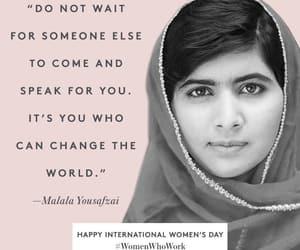 girls, women's day, and happy women's day image