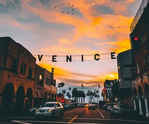 venice, travel, and sunset image
