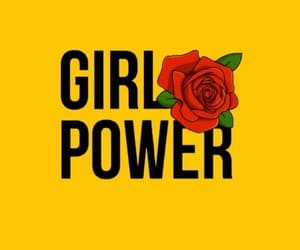 wallpaper, girl power, and rose image