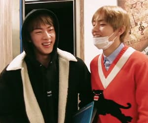 jin, v, and low quality image