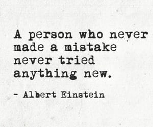 einstein, mistakes, and quote image