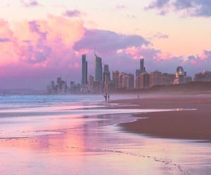 aesthetic, beach, and city image
