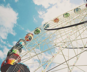 photography, sky, and vintage image