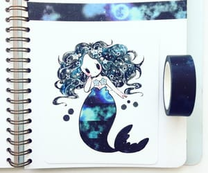 cutie, drawing, and mermaid image