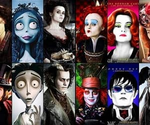 johnny depp, helena bonham carter, and tim burton image