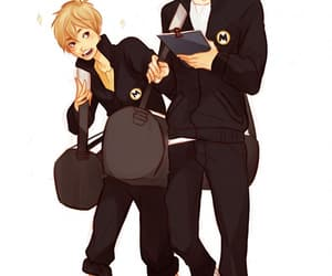 manager, haikyuu!!, and karasuno image