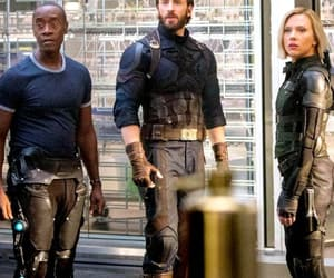 black widow, captain america, and Marvel image
