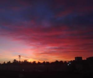sunrise, colorful, and photography image