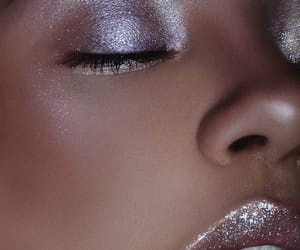 fashion, highlighter, and makeup image