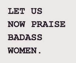 badass, text, and feminism image