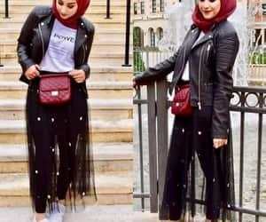 tulle skirt hijab image