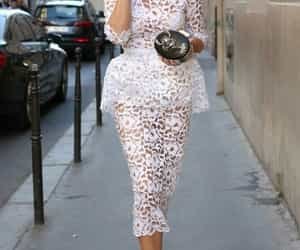 dress, street style, and ralph & russo image