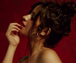 gold, music video, and camila image