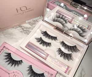 fashion, girl, and lashes image