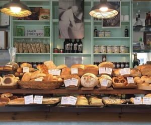 aesthetic, bakery, and bread image