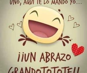 abrazo, amigos, and alegría image