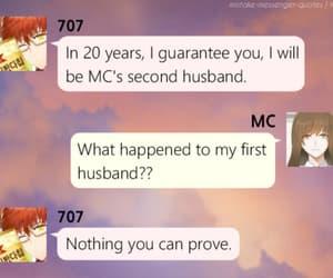 anime, boy, and 707 image