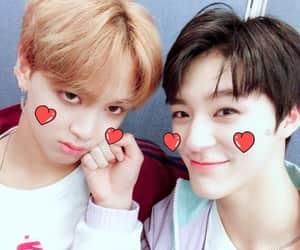 lee jeno, nct, and haechan image