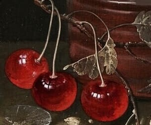 theme, cherry, and red image