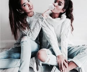 besties, filtered, and fashion image