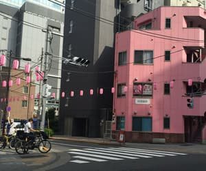 pink, street, and aesthetic image