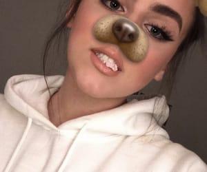 eyeliner, lips, and eyes image