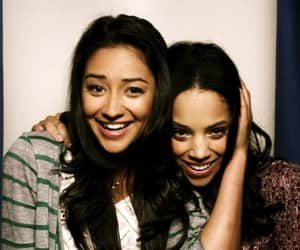 pretty little liars, bianca lawson, and shay mitchell image
