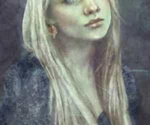 luna lovegood and harry potter image