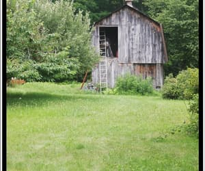 barn, farm, and new england image