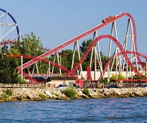 cedar point, landscape, and maverick image