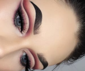 beauty, eye makeup, and dramatic makeup image