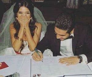 beautiful, couple, and husband image