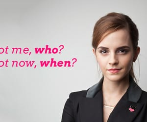 emma watson, feminist, and quotes image