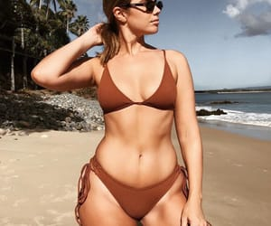 beach, bikini, and body goals image