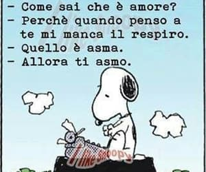 breathless, italian, and snoopy image