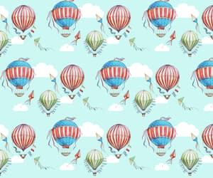 air, background, and balloons image