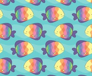 fish, animal, and background image