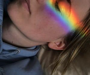 art, beautiful, and rainbow image