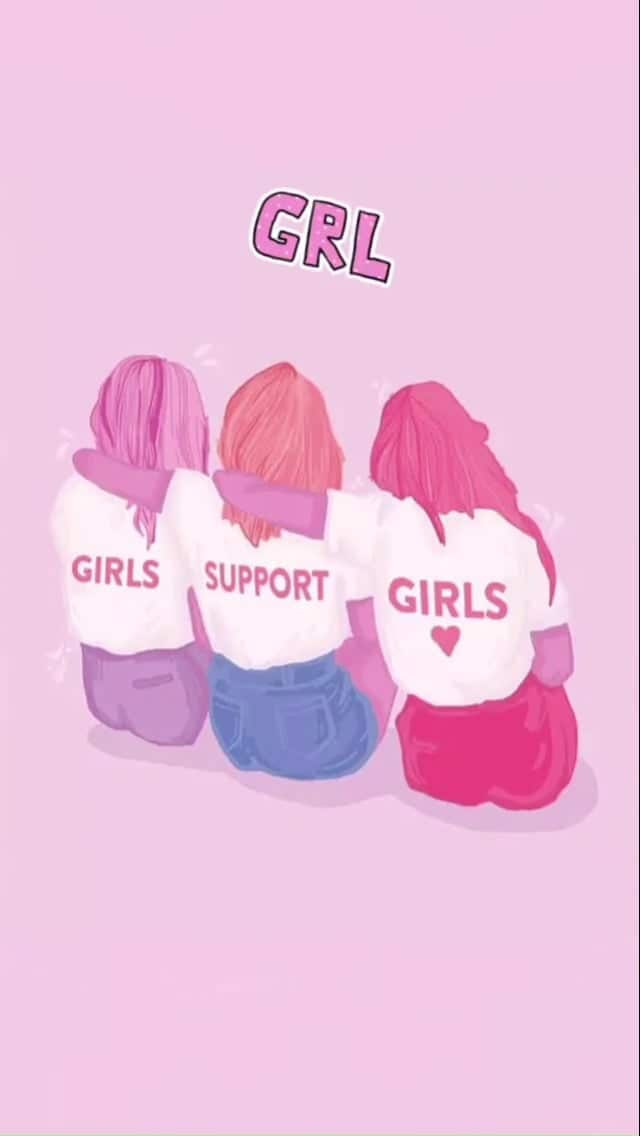 article, girls, and pink image
