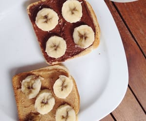 bananas, bread, and breakfast image