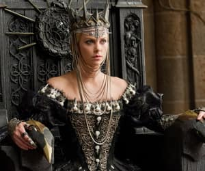 Charlize Theron, snow white, and Queen image
