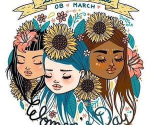 woman, women's day, and international image