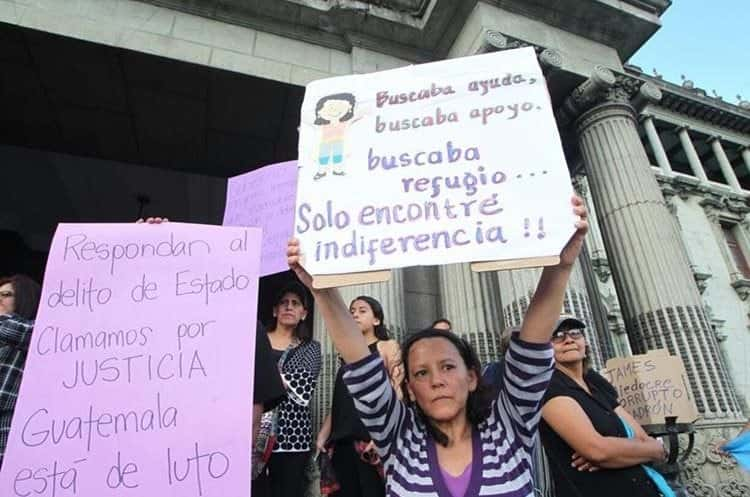 article and mujeres e injusticias. image