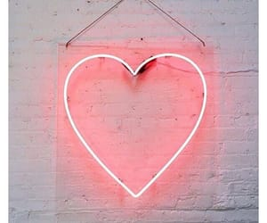 aesthetic, heart, and lights image