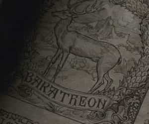 game of thrones, a song of ice and fire, and house baratheon image