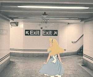 alice, exit, and in image