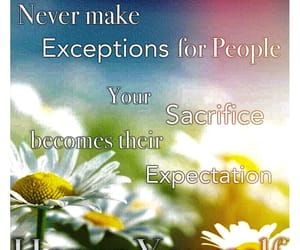 quote, expectations, and exception image