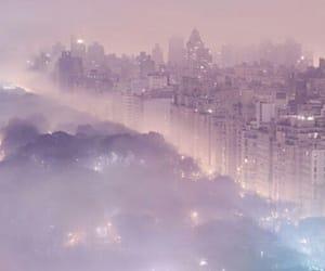 fog, pastel, and purple image