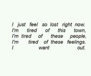 broken, sad, and tired image