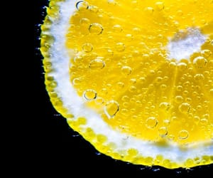 bubbles, yellow, and contrast image